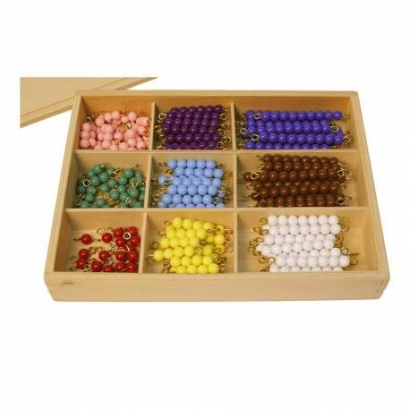 matematicas para niños con el método montessori