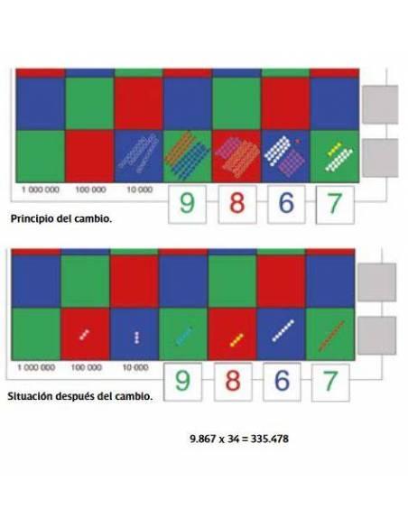 Libro Montessori de Matemáticas Vol2  Libros Montessori