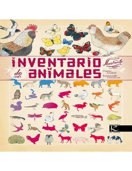 Inventario ilustrado de animales  Libros