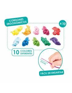 10 cordones ergonómicos para coser y enlazar
