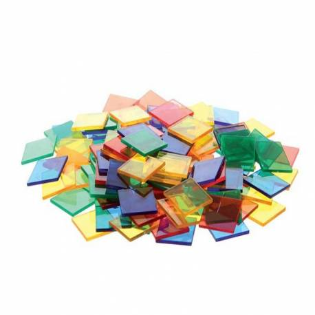 Cuadrados translúcidos  Geometría