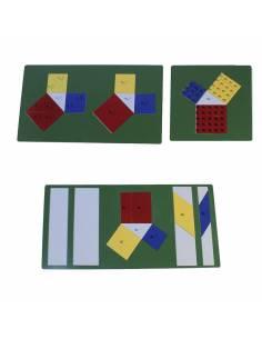 Teorema de pitágoras Montessori