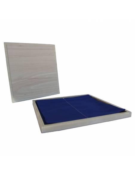 Caja para doblar telas  Sensorial