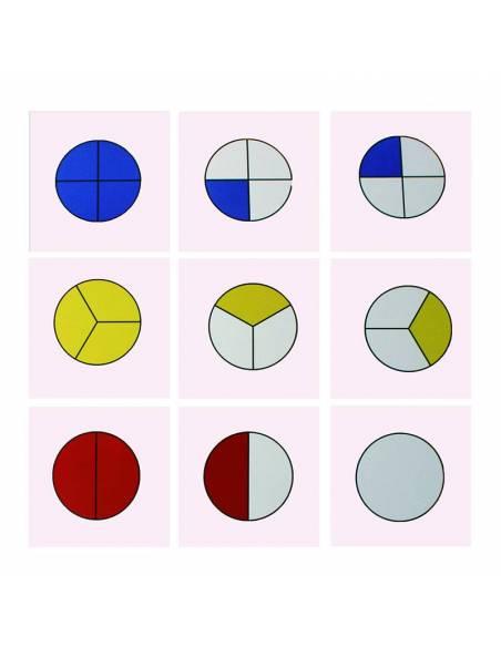 Tarjetas para los bolos de fracciones  Geometría y Álgebra