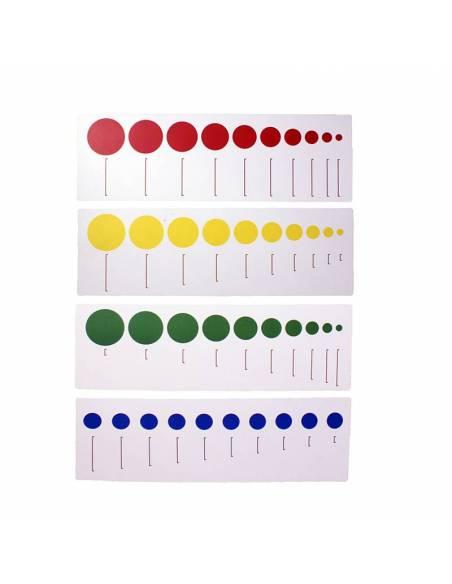 Tarjetas para cilindros sin botón 1