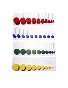 Tarjetas cilindros sin botón 1