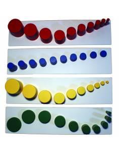 Tarjetas combinaciones cilindros sin botón 2