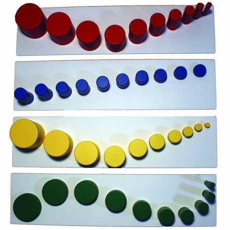 Tarjetas combinaciones para cilindros sin botón 2