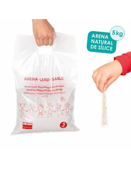 Arena de sílice 5 kgs  Juguetes Sensoriales
