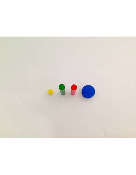 Repuesto Cilindro Sin Botón ROJO  Perlas y Repuestos
