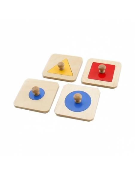 Cuadrado -- Puzzle individual  Primeros puzles