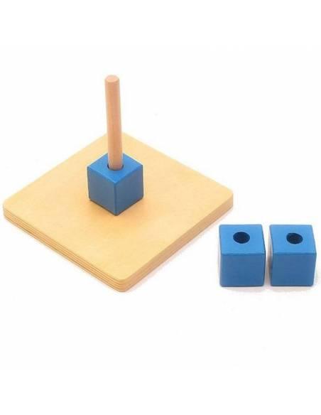 Apilador cubos vertical azul  Infant