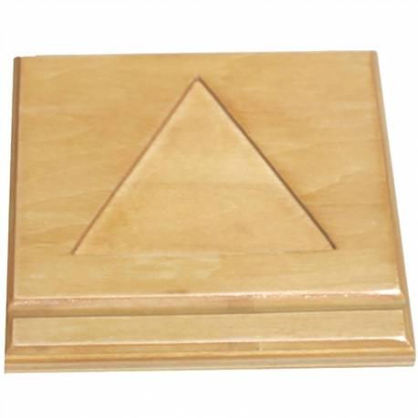 Base de madera para escalera de perlas  Contar del 0 al 100
