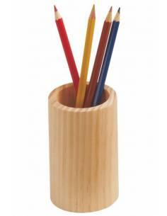 Bote en madera para lápices