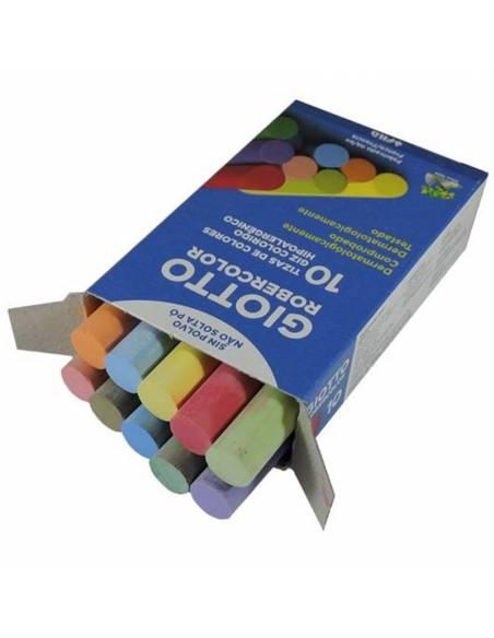 Tizas antialérgicas color  Papelería