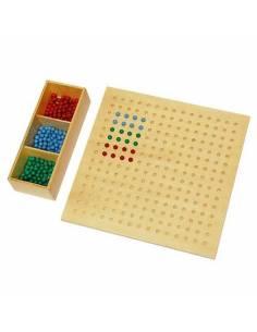 tabla perforada montessori