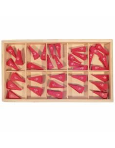fraction cut outs montessori