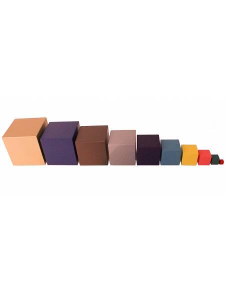 Cubos de colores  Geometría y Álgebra