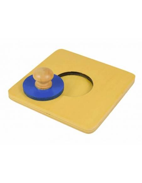 Círculo pequeño - Puzzle individual  Primeros puzles
