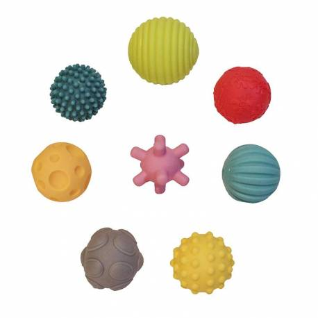 8 pelotas sensoriales