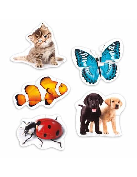 Maxi puzzles animales  Puzzles y construcciones