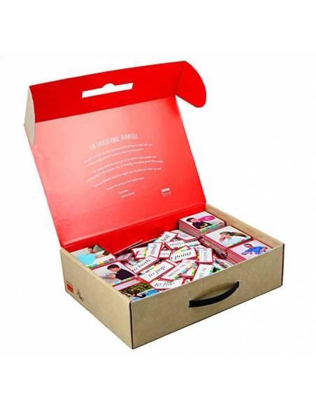 serie rosa montessori control error en tarjetas