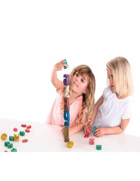 Torre de Números Montessori  Aprender a Contar