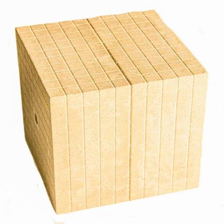 Cubo 1000 Re-wood base 10*