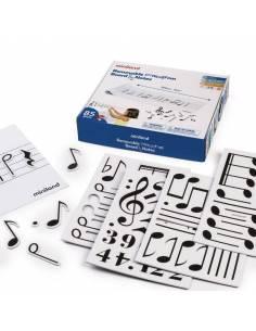 Pizarra Musical y Notas Magnéticas
