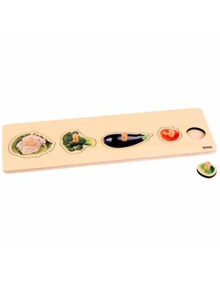 Puzzle verduras Nienhuis  Primeros puzles