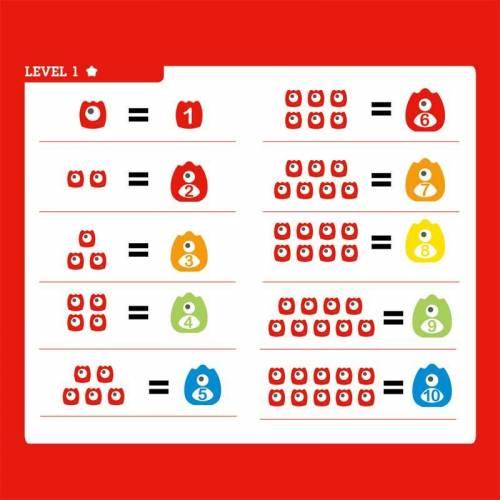 Juego Matemáticas Monster Math  Educativos