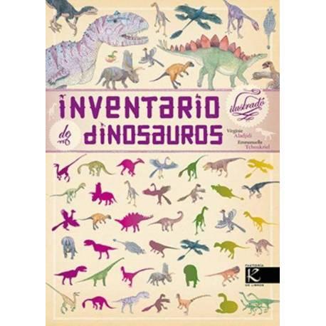 Inventario ilustrado de dinosaurios  Libros con Imágenes Reales