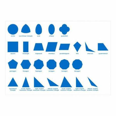 Hoja de control PAPEL Gabinete geométrico  Sensorial Montessori