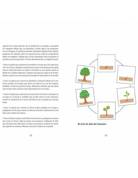 Libro de ciencias con Montessori  Libros Montessori