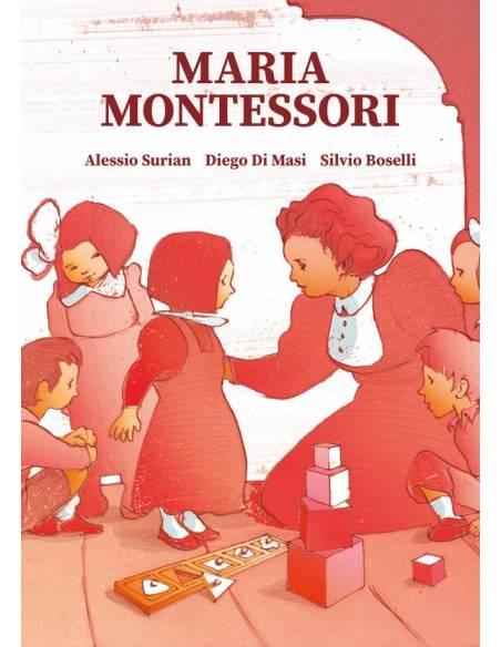 María Montessori - novela gráfica  Libros Montessori