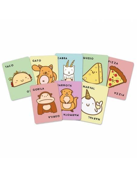Juego de cartas Taco, Gato, Cabra, Queso, Pizza  Juegos de mesa