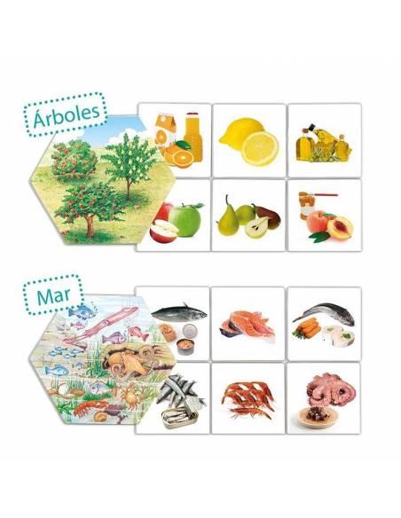 ¿De dónde vienen los alimentos?  Cuerpo Humano y Alimentación