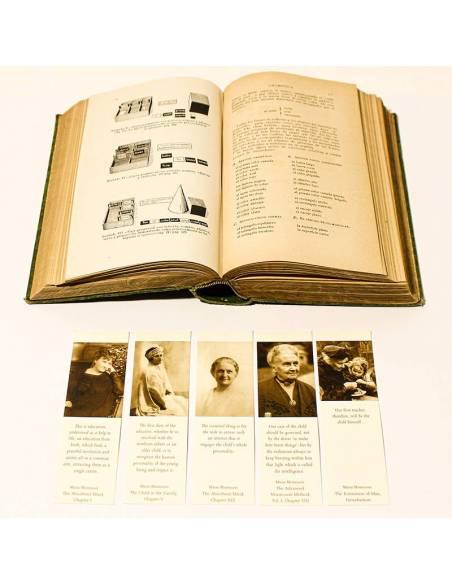 Bookmarks - Montessori live  Regalos Montessori