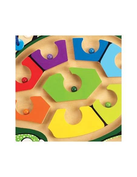 Tortuga magnética de colores  Más de 3 años