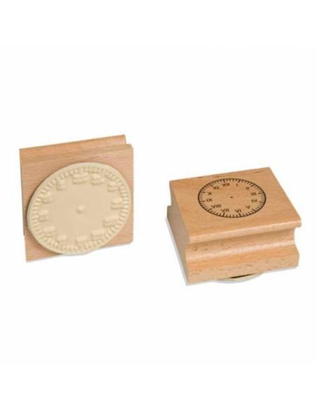 Sello del Reloj - Números Romanos  Medidas y Tiempo