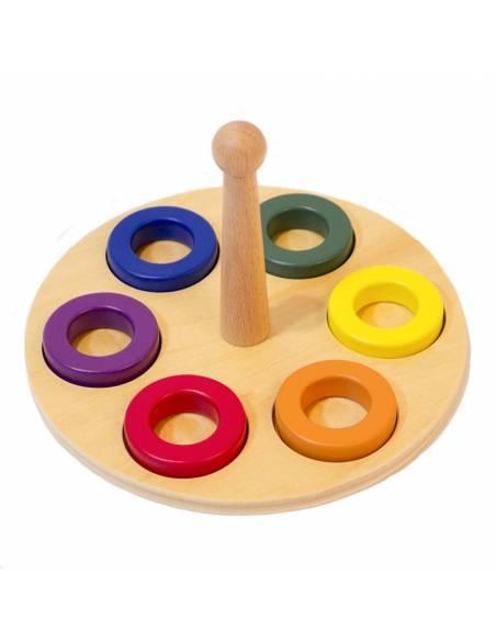 Apilable con discos de Colores  Infant