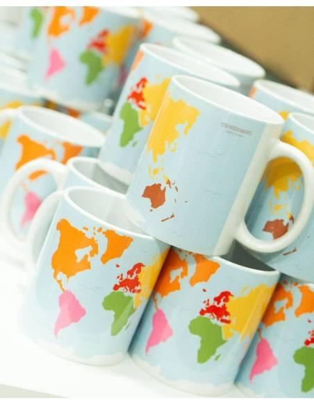 Taza Montessori El Mundo  Para regalar