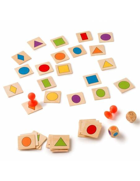 Stick the shape - Formas y Colores  Geometría