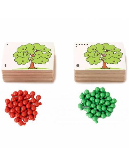 Count the apples - Cuenta Manzanas  Aprender a Contar