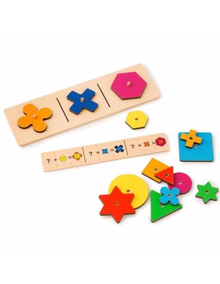 Build a flower - aprende formas y colores  Geometría
