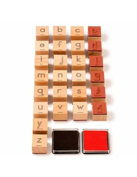 Stamp the letter - Sellos con Letras  Lenguaje