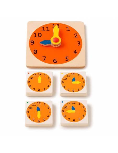 What time is it? - Aprende las horas  Tiempo