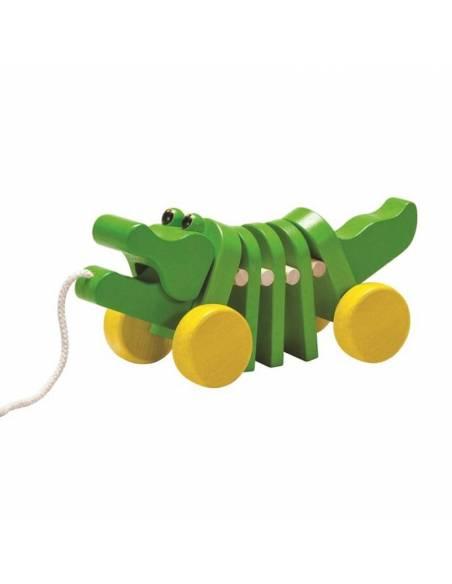 Arrastra el cocodrilo  De 1 a 3 años