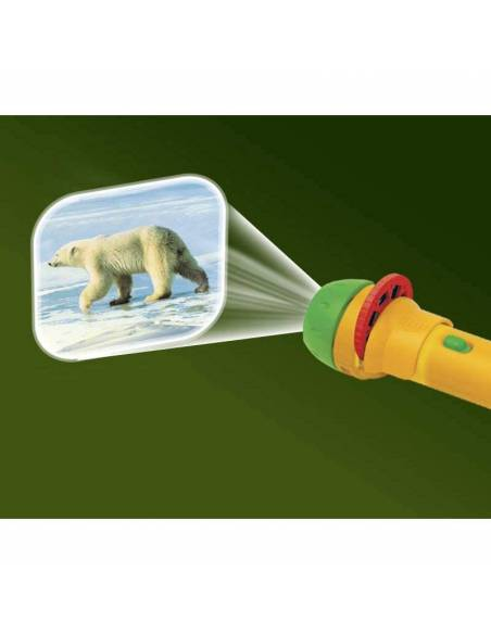 Linterna Proyector Animales Salvajes  Linternas Proyector