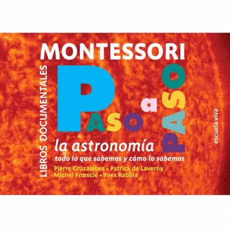 Libro Astronomía Montessori  Libros Montessori